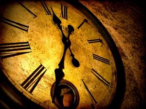 Time is swift, it races by...