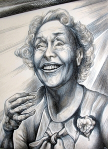 Austen Pinkerton Artwork Helen Keller, 2009 Other Drawing, Portrait.
